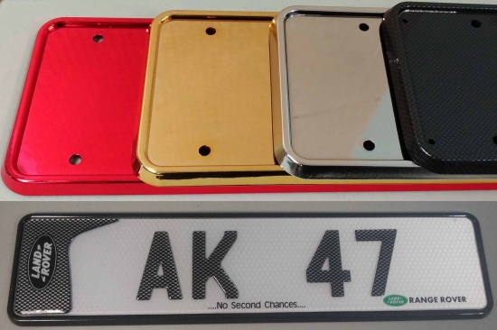 Number Plate Sizes - PimpMyPlate